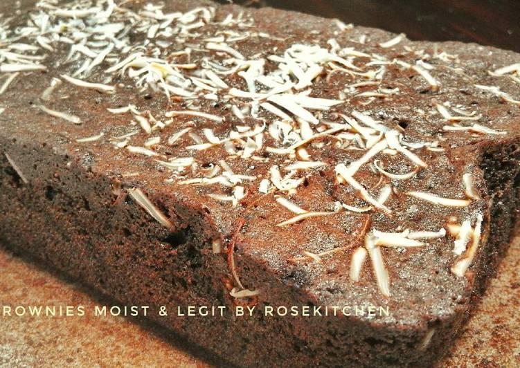 Brownies Moist n Legitt