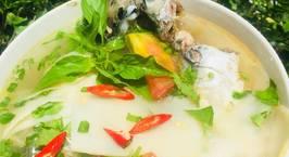 Hình ảnh món Cá nục nấu măng chua
