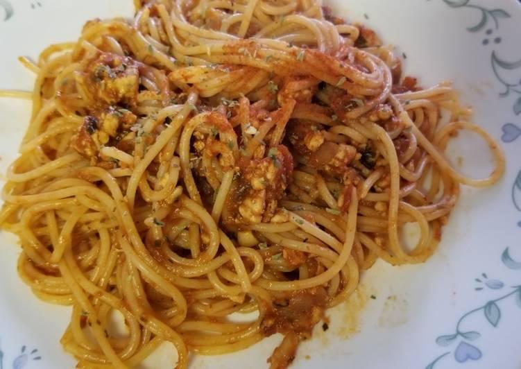 20 mins: ground turkey marinara sauce pasta