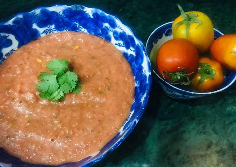 Recipe of Any-night-of-the-week Tomato chutney