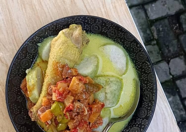 Resep Lodho ayam versi opor ayam Yang Mudah Endes