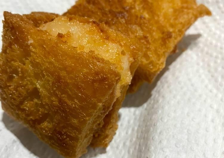 Roti udang goreng (Mien Pao Sha)