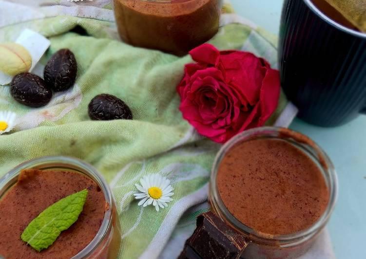 Mousse au chocolat a l'aquafaba