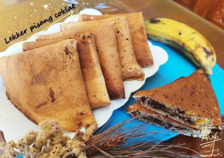 Lekker pisang coklat - cookandrecipe.com