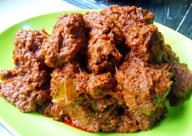 Rendang Daging Sapi. Tips supaya awet #BikinRamadhanBerkesan# 29