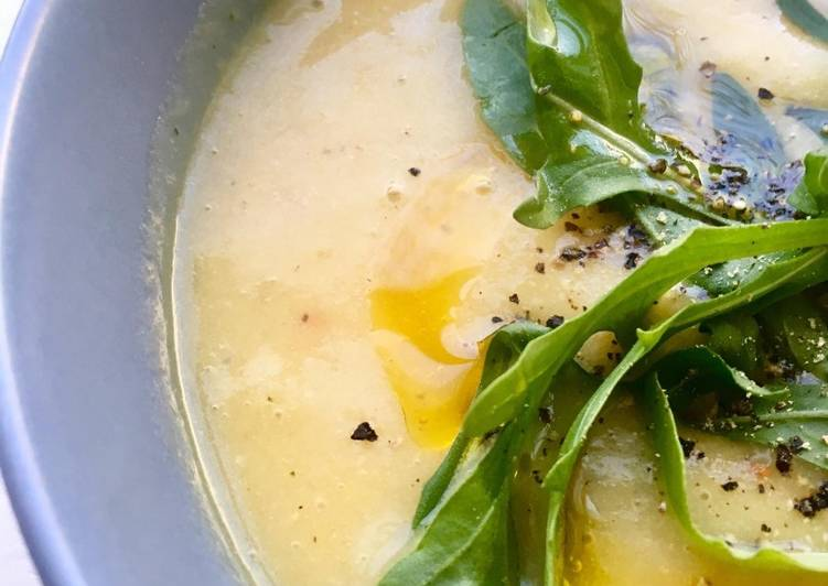 Recipe of Perfect Spiced Leek, Potato and Parsnip Soup