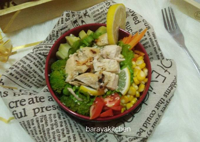 Salad sayur (diet)