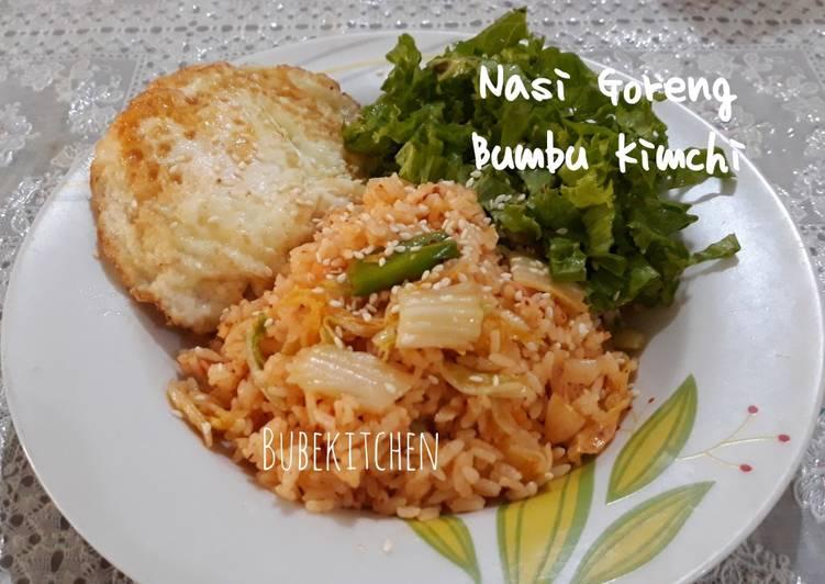 Nasi Goreng Bumbu Kimchi