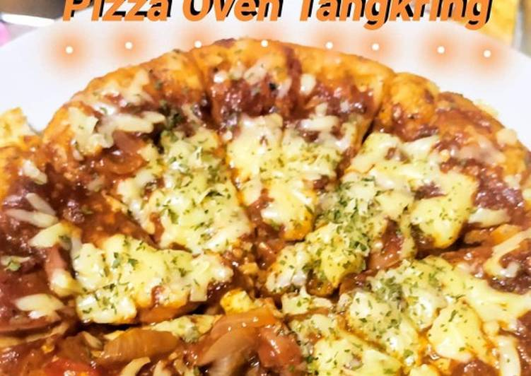 Resep Pizza Oven Tangkring Anti Gagal