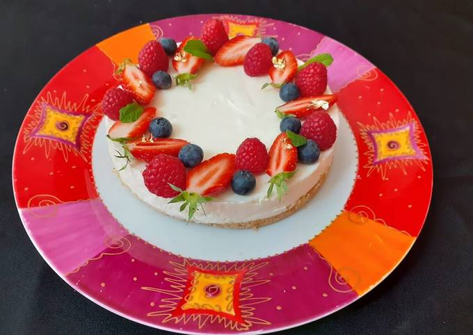 Cheesecake fruits rouges,