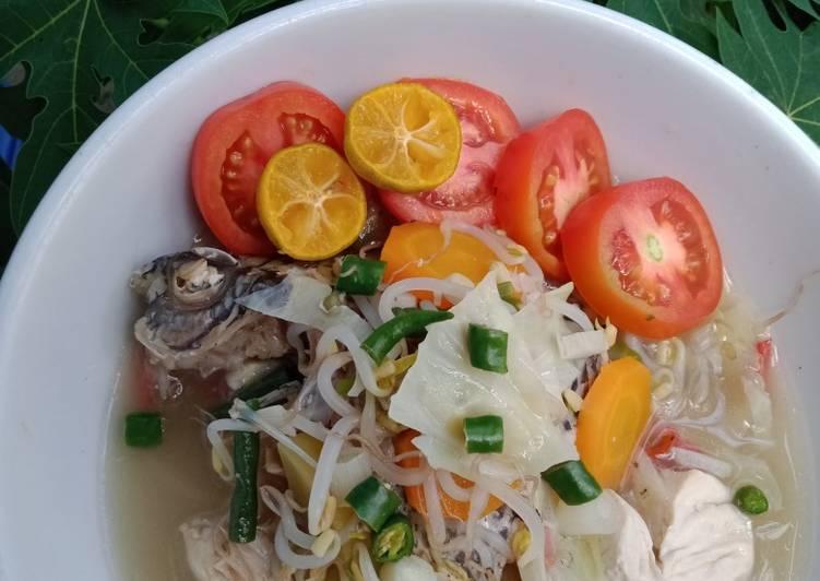Sup Ikan Mujair (Menu Diet)