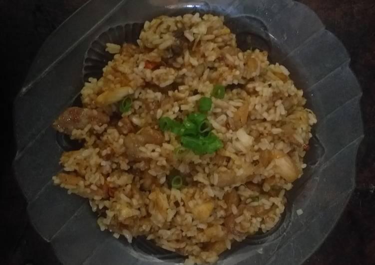 Nasi Goreng Hainan Ala-ala