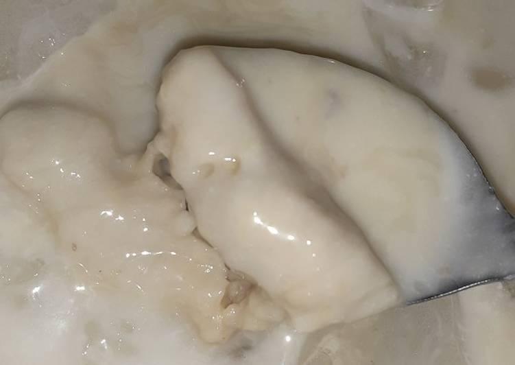 Soup durian homemade