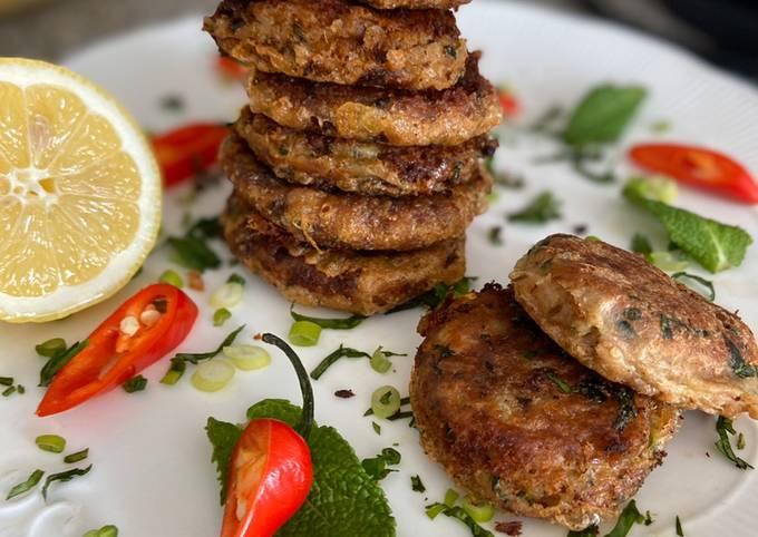 Tuna fish kebab