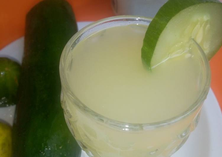 Recipe of Perfect Cucumber Ginger lemonade