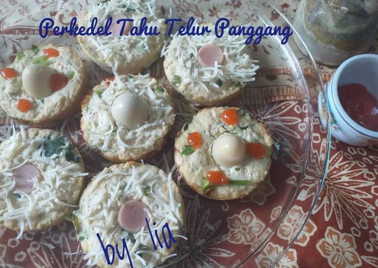 Perkedel Tahu Telur Panggang - cookandrecipe.com