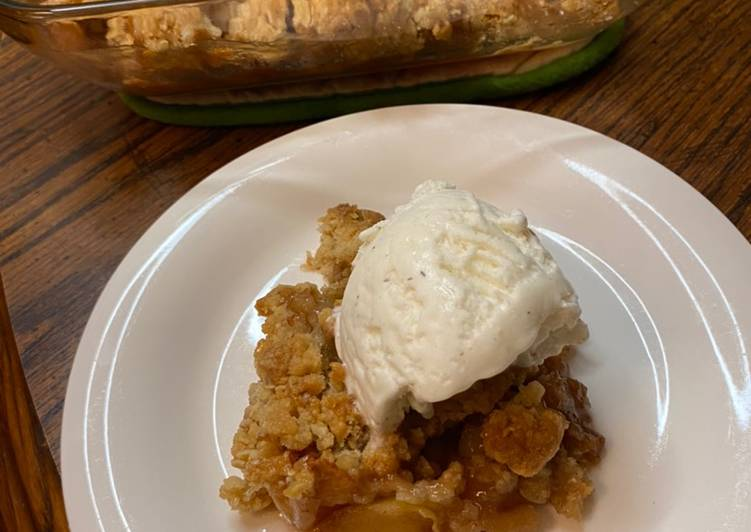 Step-by-Step Guide to Prepare Homemade Fall apple crisp