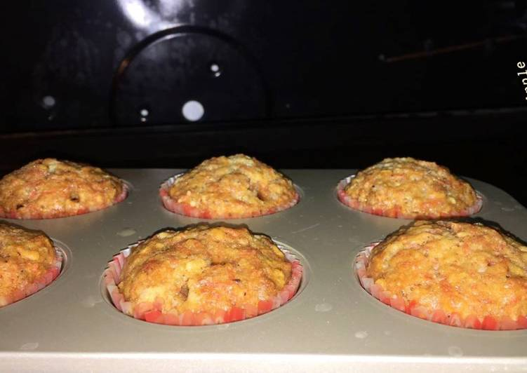 Recipe of Homemade Apple carrot Muffins