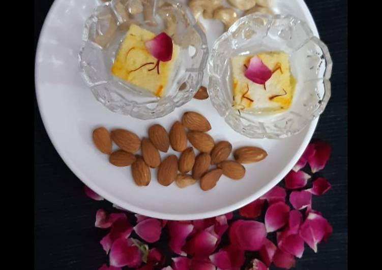 30 Minute Step-by-Step Guide to Make Winter Bengali steamed sweet Chenna sandesh