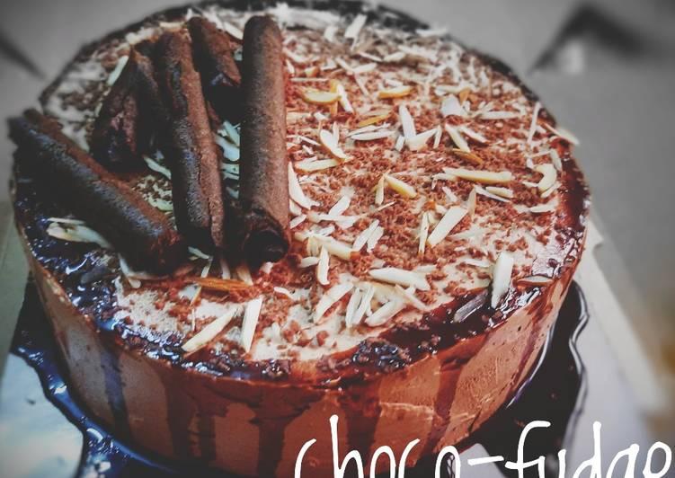 Choco fudge cake