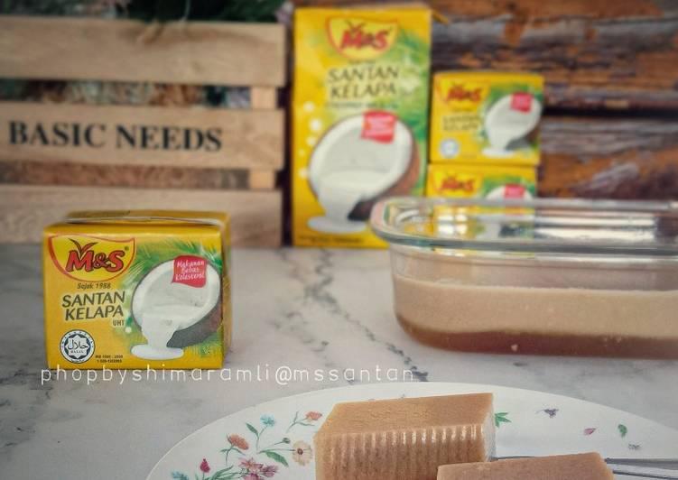 Agar agar santan gula merah - resepipouler.com