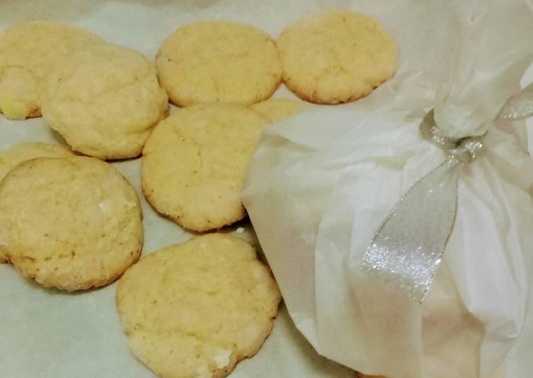 Classic butter lemon cookies - cookandrecipe.com