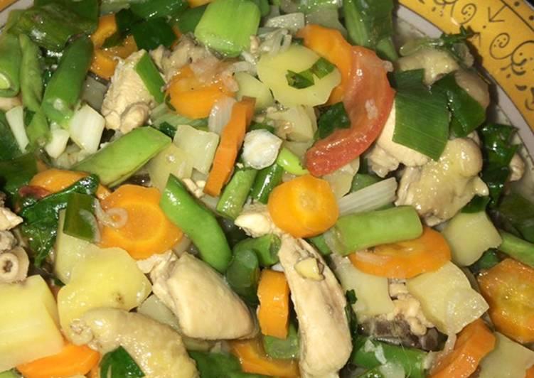 Cara Muda Membuat Persiapan Sempurna Sayur Sop Ayam