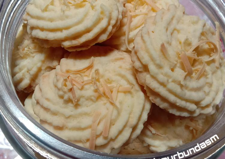 Cookies sagu keju lumer