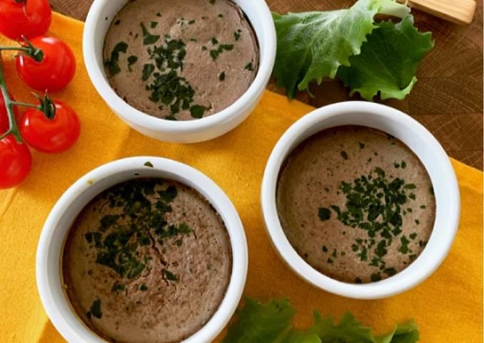 ☆Gâteaux de Foie de Volaille au Cookéo☆