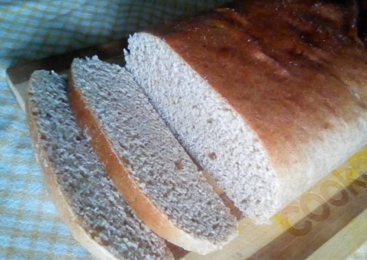 Recipe of Quick Atta brown bread