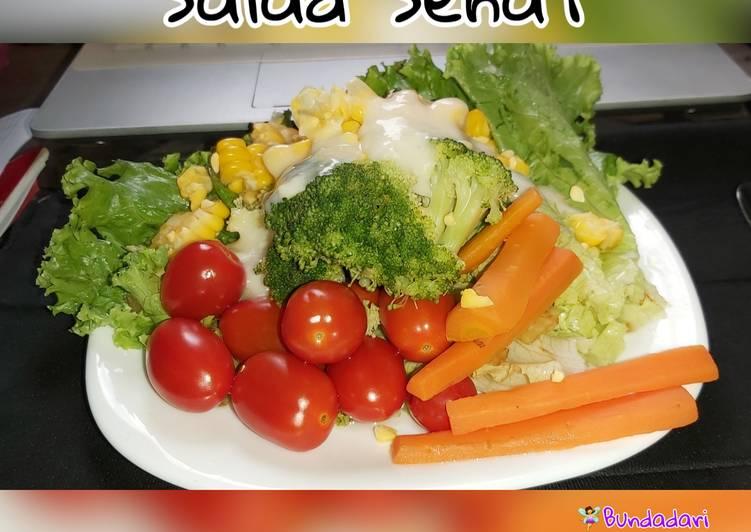Salad Sayur Sehat (menu diet)