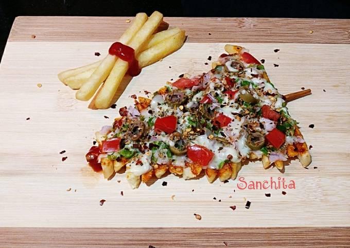 Potato French Fries Pizza