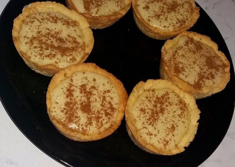 Recipe of Quick Traditional mini milk tarts