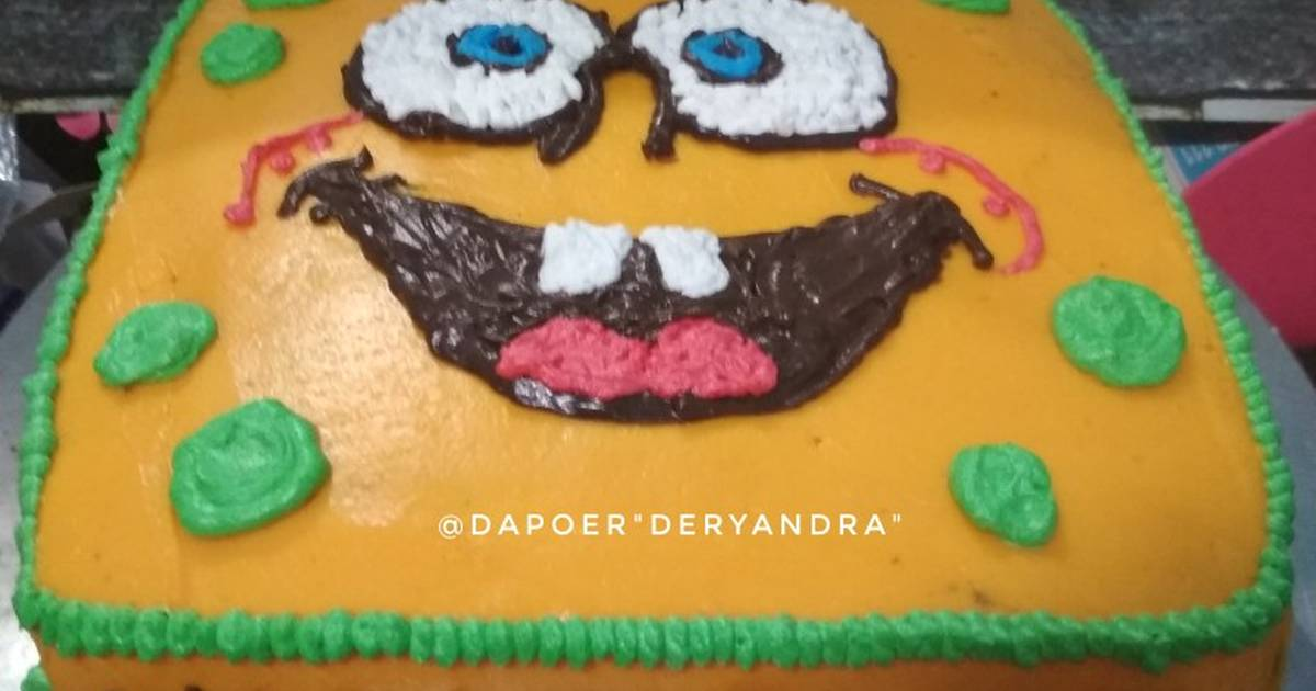 10 Resep Cara Menghias Kue Ultah Spongebob Enak Dan Sederhana Ala Rumahan Cookpad