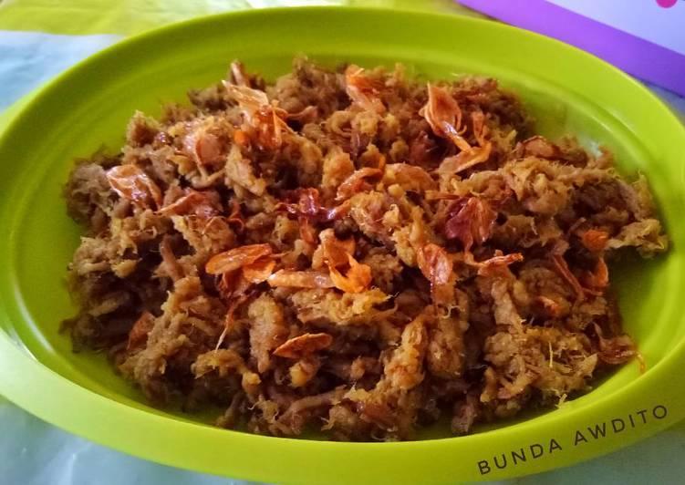 Resep Empal Gepuk Suwir Daging Sapi Super Resep Masakanku