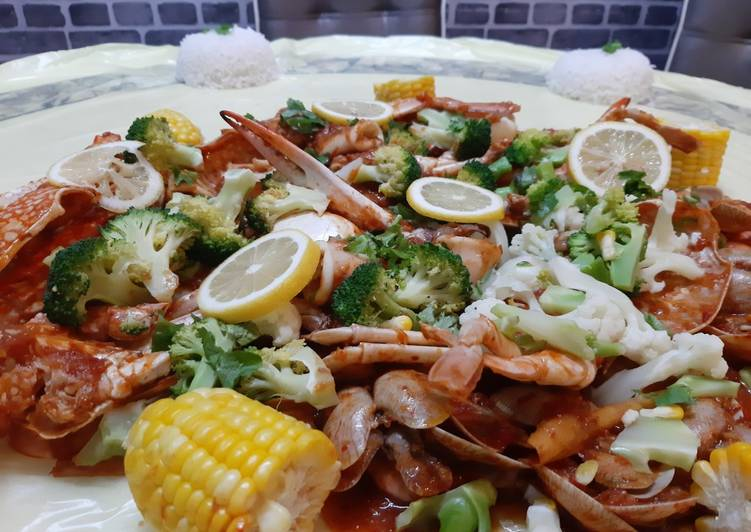 Seafood Shell Out