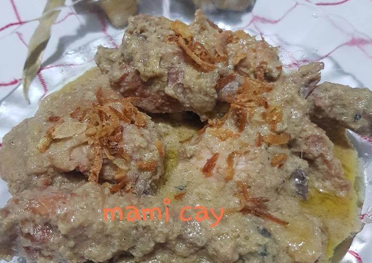 Ayam Opor Lebaran