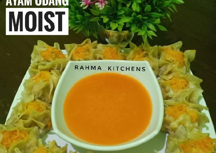 Resep Dimsum Ayam Udang Moist Oleh Rahma Bunda Radit Rafa Cookpad