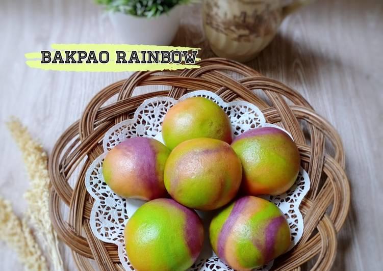 Resep Bakpao Rainbow Empuk&Lembut plus tips biar mulus Top