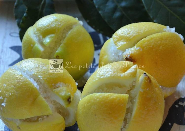 How to Cook Tasty Citrons confits au sel