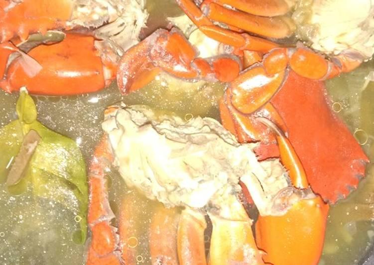 Kepiting kuah jahe