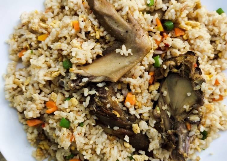 Nasi Goreng Hongkong Simple dan Non Pedas