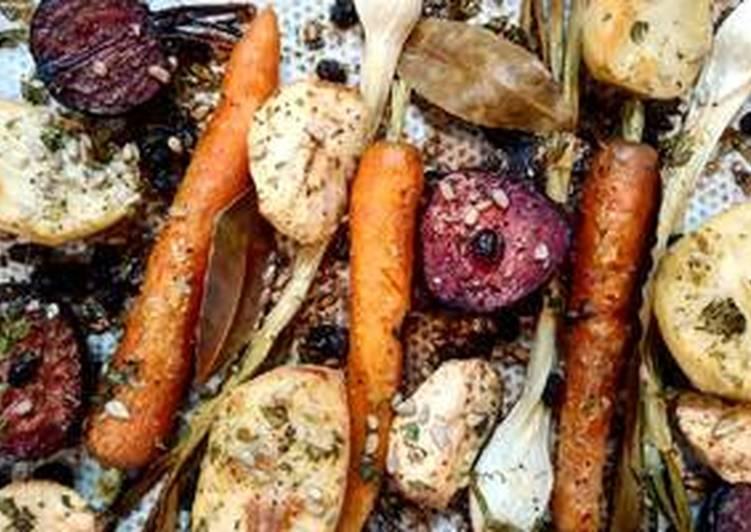 Brut de légumes rôtis