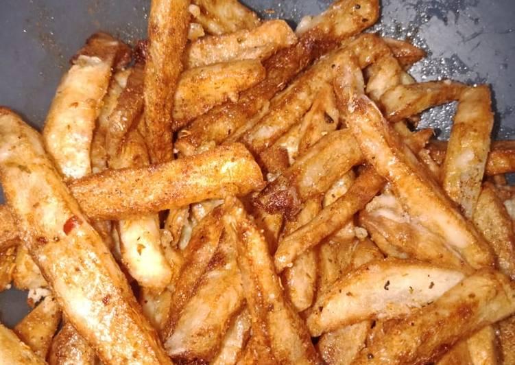 Step-by-Step Guide to Prepare Speedy French fries