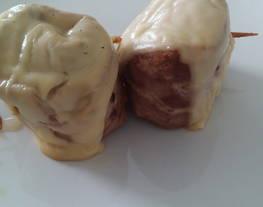 Medallones de solomillo de cerdo con beicon