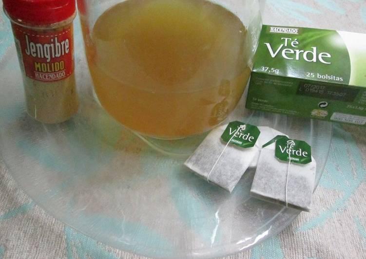 Como puedo tomar el te verde para bajar de peso