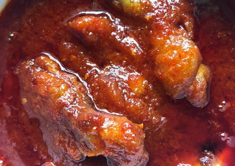 Ayam masak rose