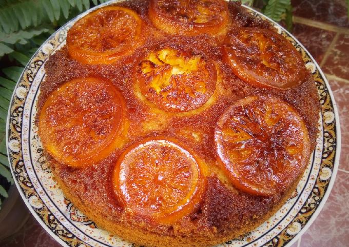 Gâteau renversé a l'orange 🍊