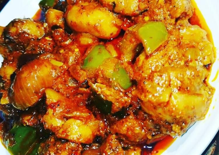 Recipe of Favorite Mushroom Kadahi