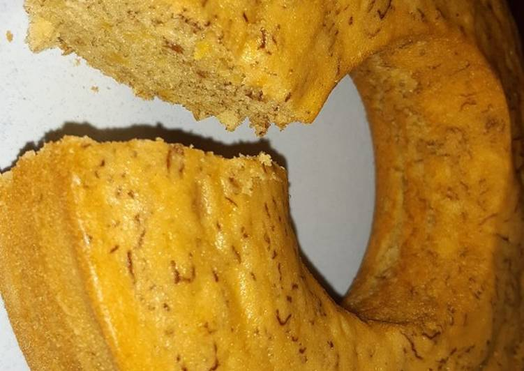 Resep Bolu pisang tanpa mixer Mudah